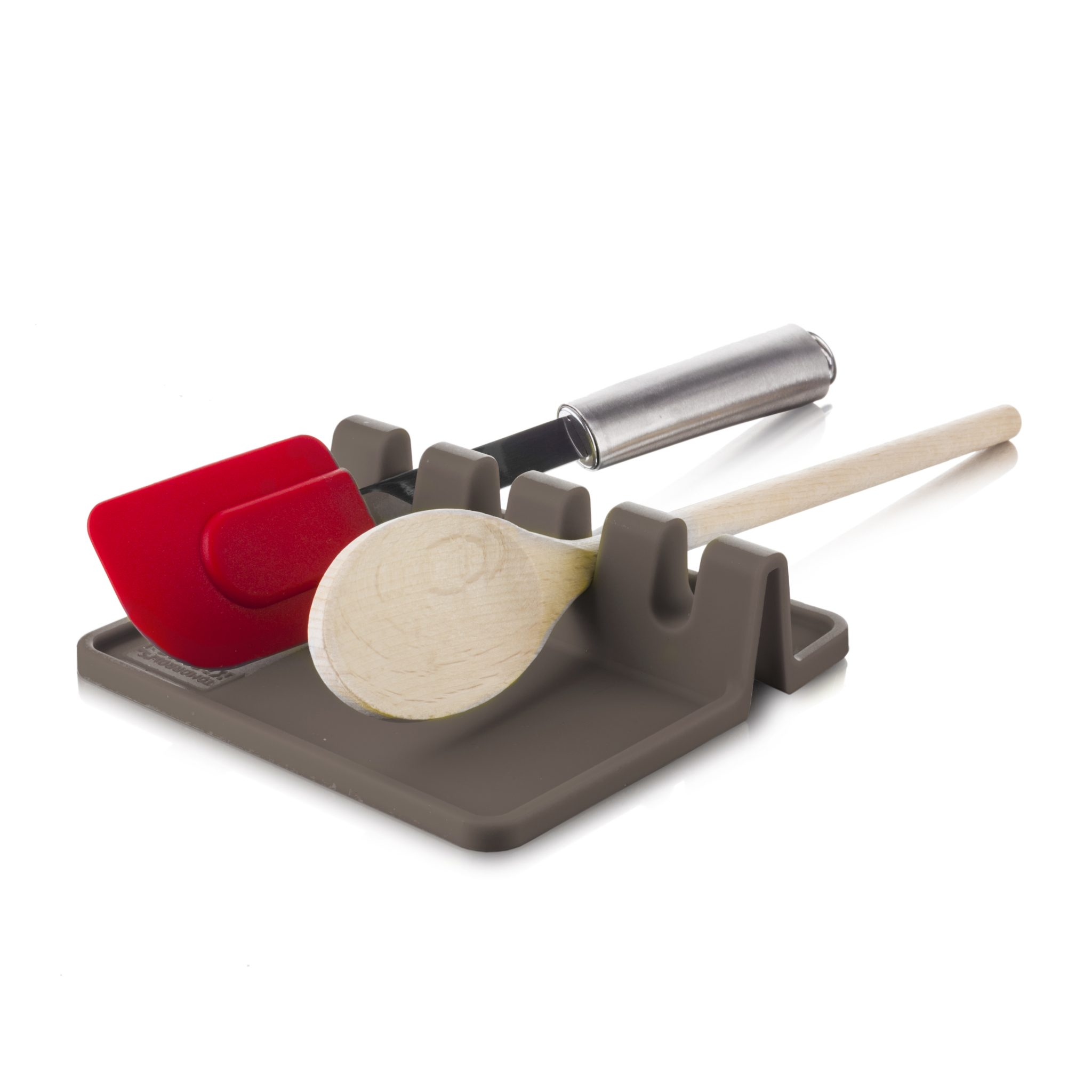 Utensil Rest Grey