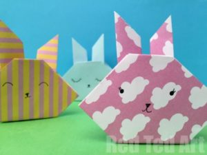Easter Origami Bunny